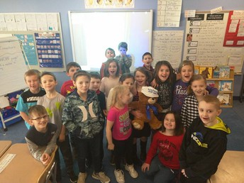Most Improved Point for a Month - Mrs. Weldon's Class