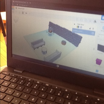 Tinkering with Tinkercad.