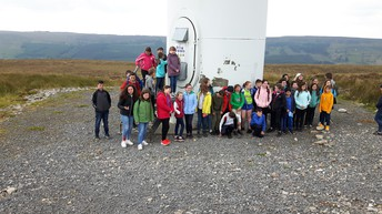 Visiting Altagowlan Windfarm
