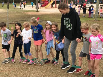 Gators of the Week:  Gators Serve at Midway Elementary School's Field Day