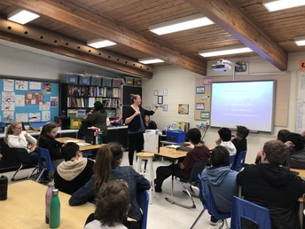 B.S.S. Visits our Grade 8's