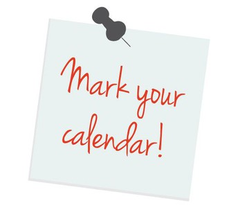 For Your Calendar