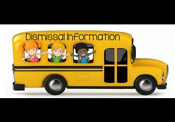 Dismissal parking and pick up safety reminders