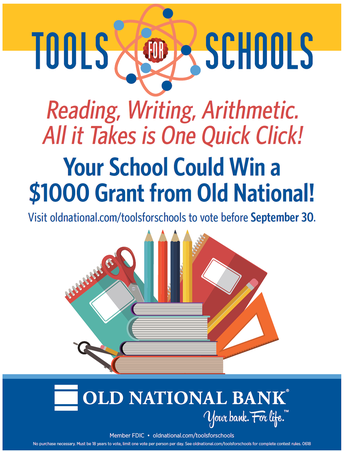 Vote NOW and Every Day for DCMS to win Tools for Schools Grant!