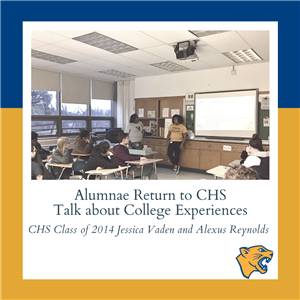 Alumnae Return to CHS, Talk about College Experiences