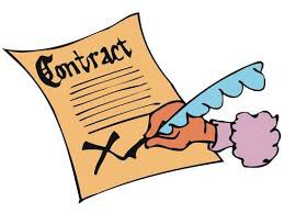Signing Contracts...