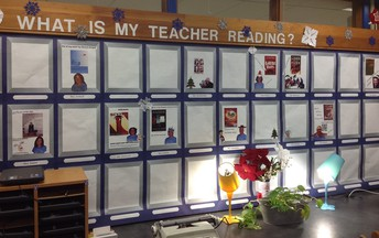 What is your teacher reading?