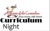A Taste of the  Curriculum Night this Tuesday!