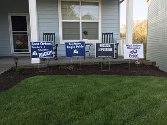 PTC School Fundraiser - Yard Signs