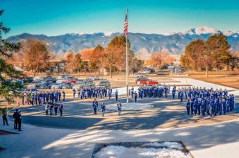 Mitchell JROTC Honoring Veterans