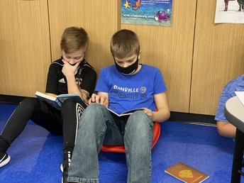 Fifth Grade Partner Reading