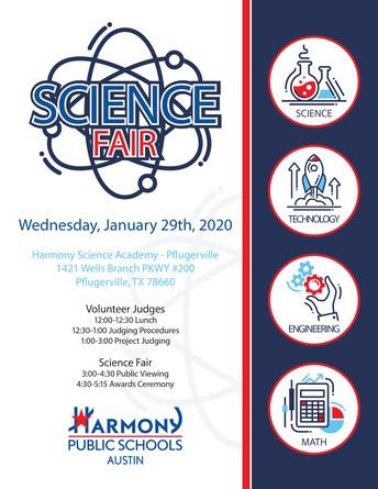 Harmony Public Schools Austin 2020 Science Fair