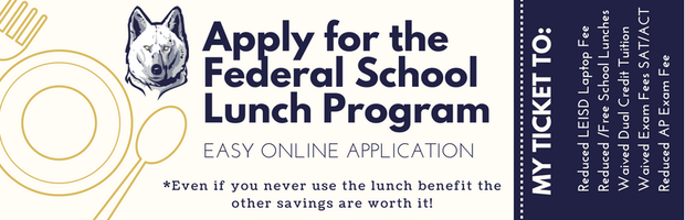 Apply for the Free and Reduced Lunch Program
