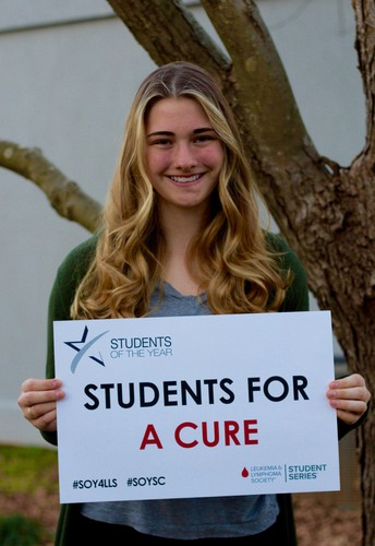 MSA Student is Candidate for LLS SC Student of the Year