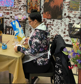 Creation Station Saturdays:  An Arts Based Mentored Experience