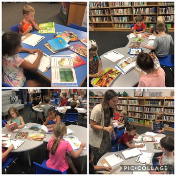 1st Grade learns about Healthy Foods!