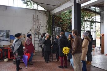study visit in Villaggio Artigiano