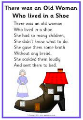 There Was an Old Lady Who Lived in a Shoe