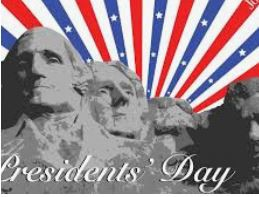 Mark Your Calendar - President's Day