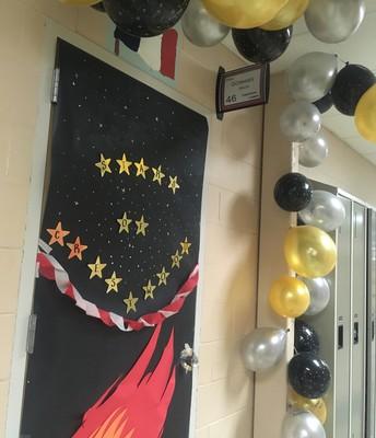High School Door Winner!