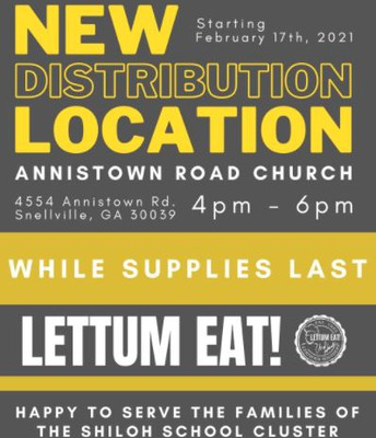 Community Meal Distribution