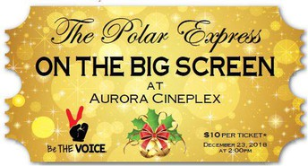 Polar Express Fund Raiser for BeTheVoice - 12/23