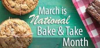 Bake & Take Month