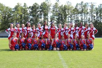 2019 JV and Varsity Cheerleaders