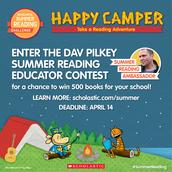 Dav Pilkey's Reading Contest