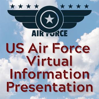 US AIR FORCE VIRTUAL INFORMATION PRESENTATION