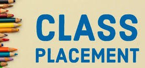 Class Placement and Cohorts
