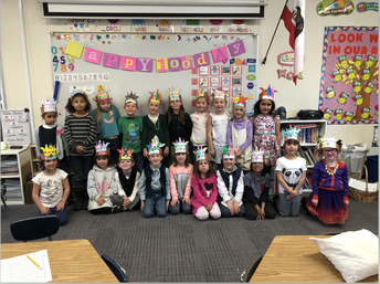 Mrs. Robbins' Class is 100 Days Smarter!