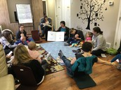 Rhyme Time for families was a big hit this year!