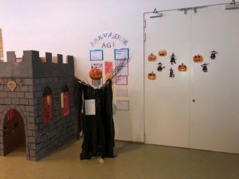 Halloween þema og böll