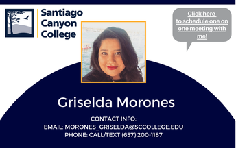 Meet Your SCC Rep Griselda