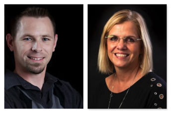 Drs. Jason Trumble and Debbie Dailey: