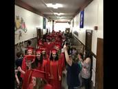 Parade of Graduates