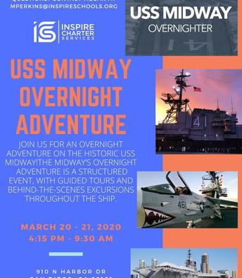 USS Midway Overnight Adventure