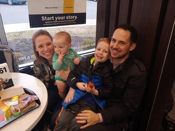 VO Family at McDonald's Night