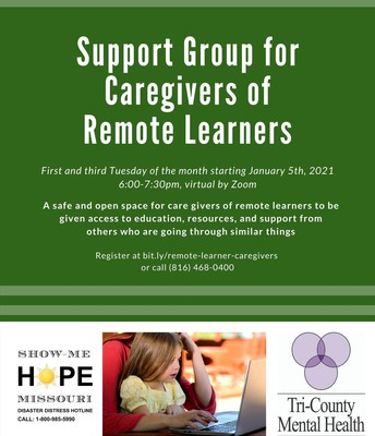 Support Group for Parents/Guardians of Remote Learners