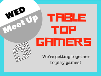 Meetup at the Game Table Area