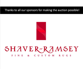 Thanks to all our sponsors for making the auction possible!