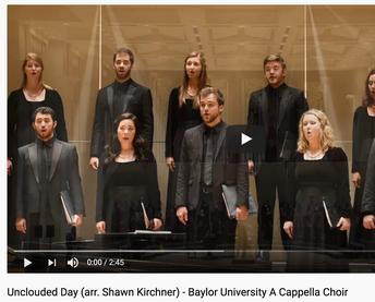 Baylor Choir - A Cappella Choir