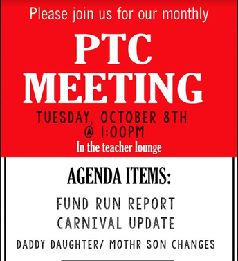 Upcoming PTC Meetings