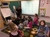 Guest Reader!  So happy to have Tricia come read to us.
