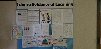 Science Evidence of Learning