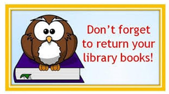 RETURN YOUR BOOKS!  IT'S Easy!  JUST DRIVE UP!