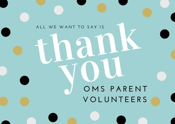 Thank you to our many volunteers!