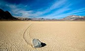 """Slithering Stones"" of Death Valley"