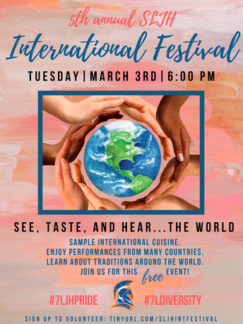 5th Annual SLJH International Festival